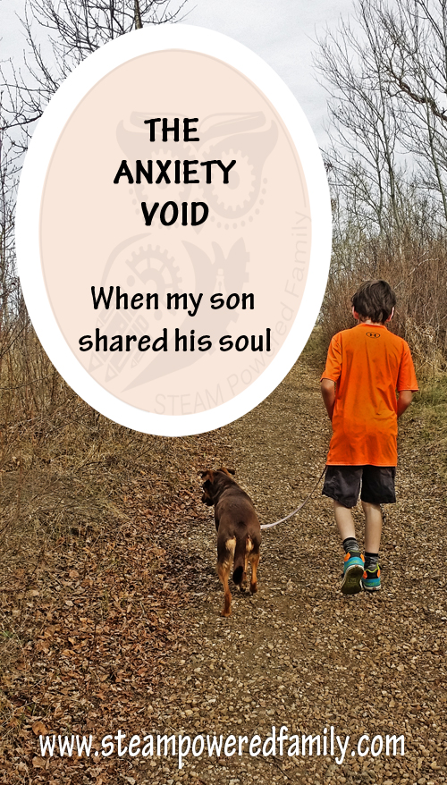 The Anxiety Void - How my son described anxiety to me