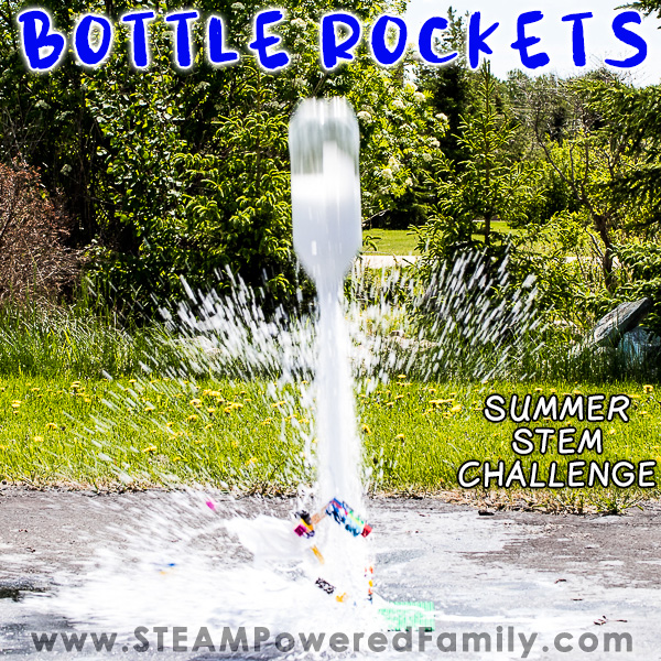 Bottle Rockets - Backyard Science Launching Young STEM Minds