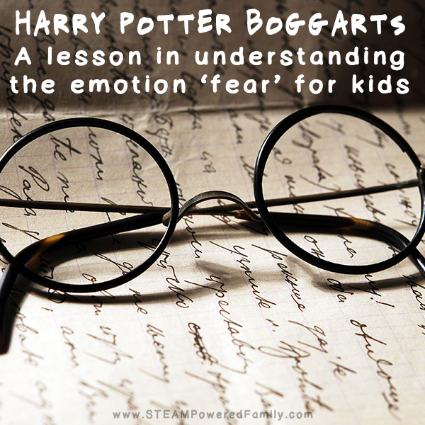 How Harry Potter Boggarts sent my kids on a major literary and emotional growth journey.