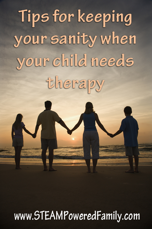 Tips for keeping your sanity when you child needs therapy