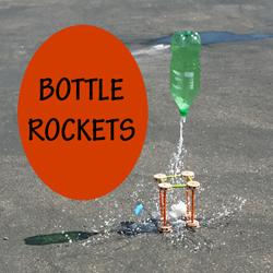 Bottle Rockets STEM Challenge for summer fun!