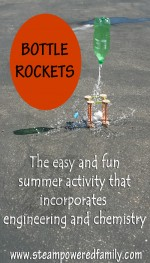 how to build a bottle rocket with an egg inside