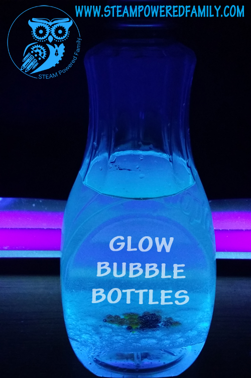 Bubble Bottles - DIY Lava Lamps