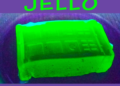 Glow In The Dark Jello Recipe