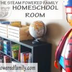 STEAM Powered Family Homeschool Room