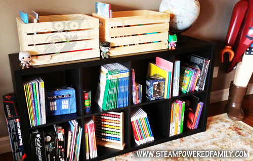 STEAM Powered Family Homeschool Room