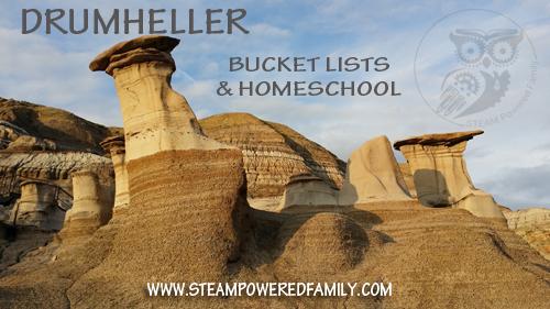 Drumheller - Dinosaurs, Hoodoos & Homeschool