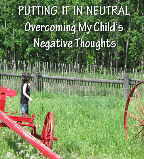 Overcoming Anxiety and Negativity With Neutral Thoughts
