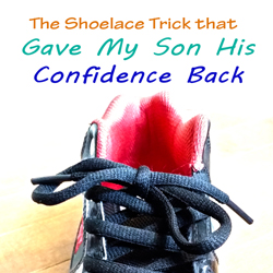 Shoelace typing trick that finally worked