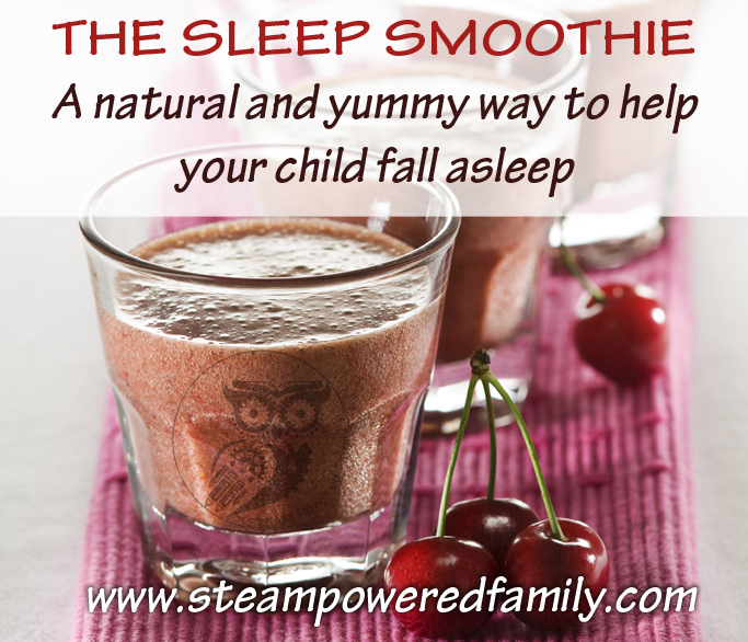 The Sleep Smoothie - the natural, healthy and yummy way to help bring ...