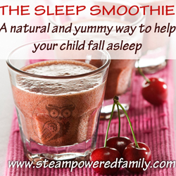 Sleep Smoothie, help your children sleep naturally