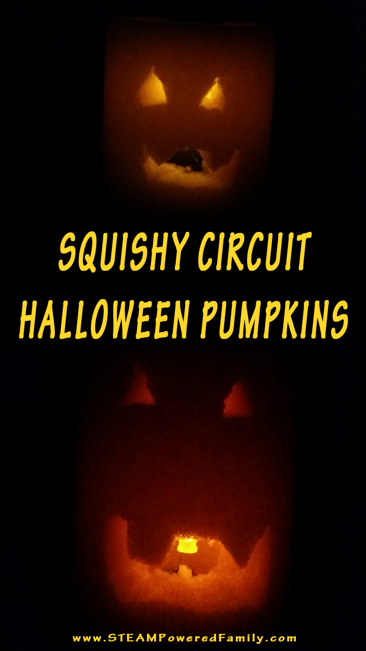 halloween pumpkins with squishy circuits a steam activity that brings science and art together