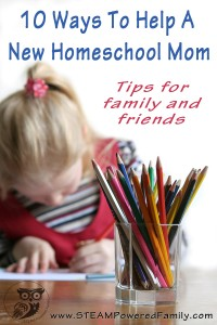 Tips For Helping New Homeschool Mom