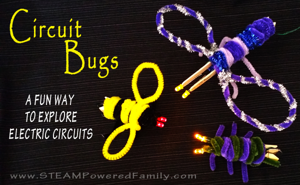 Circuit Bugs - A super cute circuit craft for kids