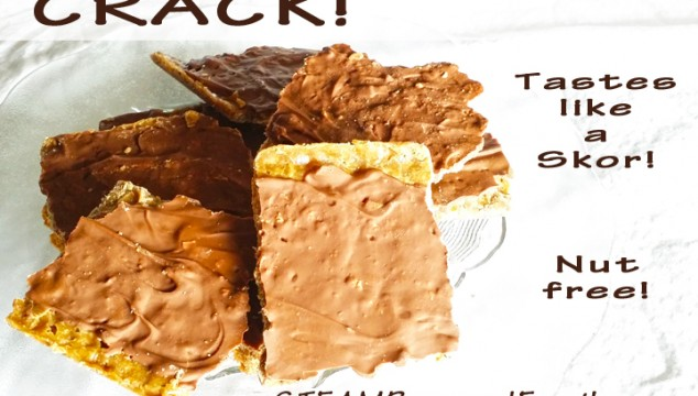 Crack Recipe – A nut-free chocolate toffee treat – so delicious!
