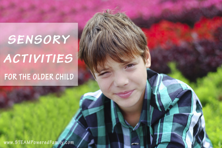 Sensory Activities For The Older Child