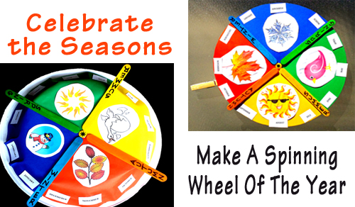 Celebrate The Seasons – Create A Fun Wheel Of The Year That Actually Spins