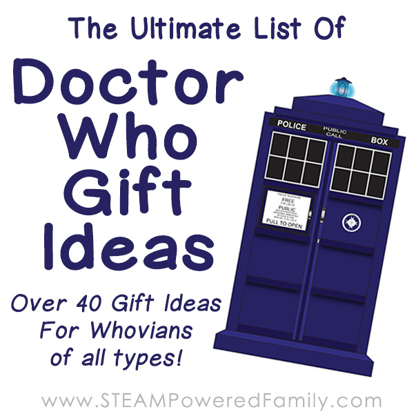 Looking For The Ultimate List Of Doctor Who Gift Ideas Check Out This Fantastic