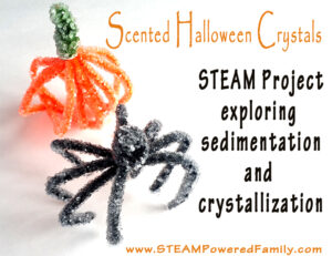 Scented Halloween Crystals - A STEAM Project