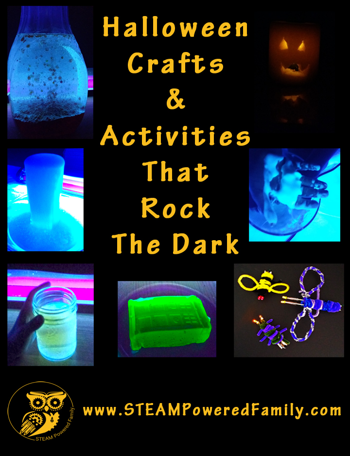 Crafts & Activities That Rock The Dark For The Perfect Spooktacular Halloween Party!