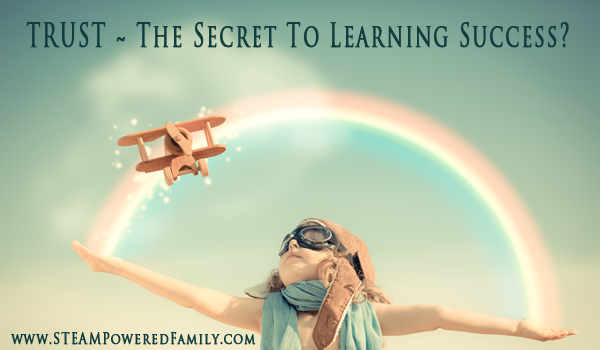 Trust - The Secret To Success In Learning? After years of struggling trying to help my son learn, I think we may finally have some understanding about what is needed for learning success.