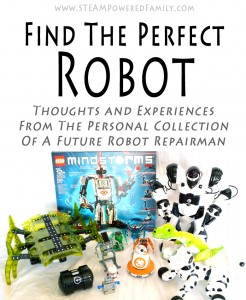 A Future Robot Repairman's review of 10 different robots from a personal collection