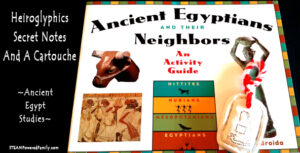 Learn about Ancient Egypt hieroglyphics with this fantastic hands on activity