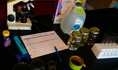 Water Lab - An activity exploring the importance of safe drinking water