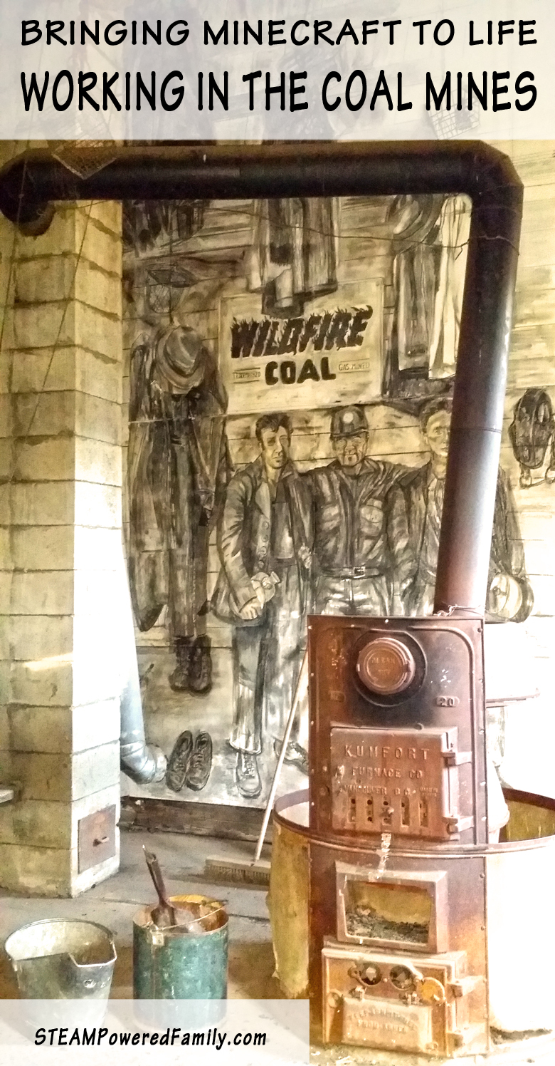 Check out how we brought Minecraft to life with a day in the coal mines! A fantastic adventure for all ages.