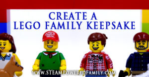 Lego Family Keepsake - A wonderful project that will help children explore what makes each of their family members special. Makes a great gift for loved ones.