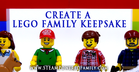 Build A Lego Family Keepsake