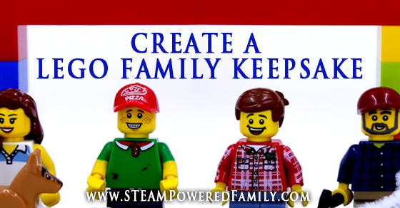 Build A Lego Family Keepsake