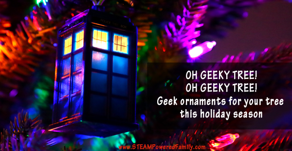 Oh Geeky Tree! Must have Geek Christmas Ornaments