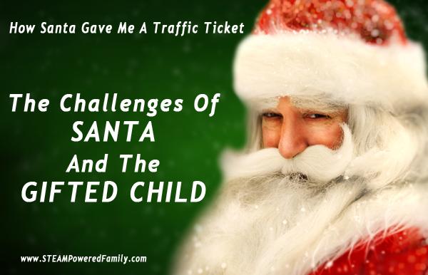 How Santa Gave Me A Traffic Ticket The Magic Of Santa