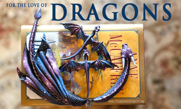 For The Love Of Dragons - Anne McCaffrey's Dragons of Pern. If you love dragons you must read this series and check out the stunning custom dragon jewelry!