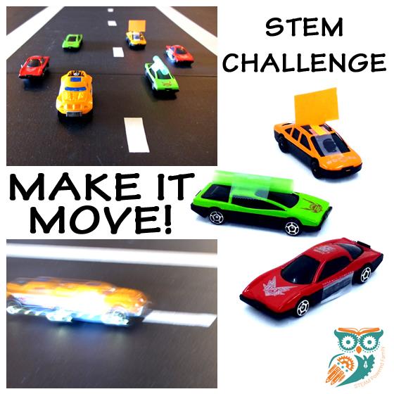 Make it Move STEM challenge