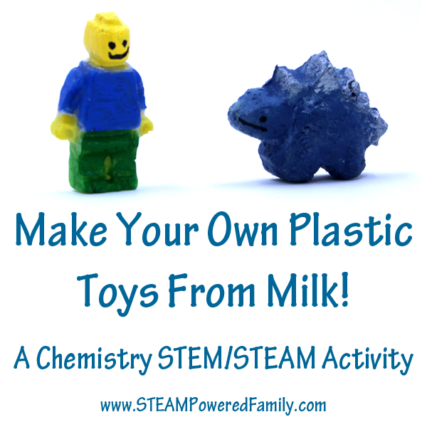 Make Plastic From Milk You Can With Science