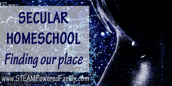 Secular Homeschool - Finding our place and the unique struggles of fitting into a community traditionally dominated by religion, but it is changing. Secular homeschool and secular materials for homeschool are becoming more popular.