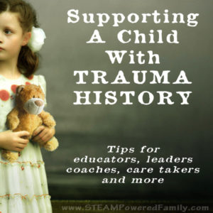 Supporting a child with trauma history - essential tips
