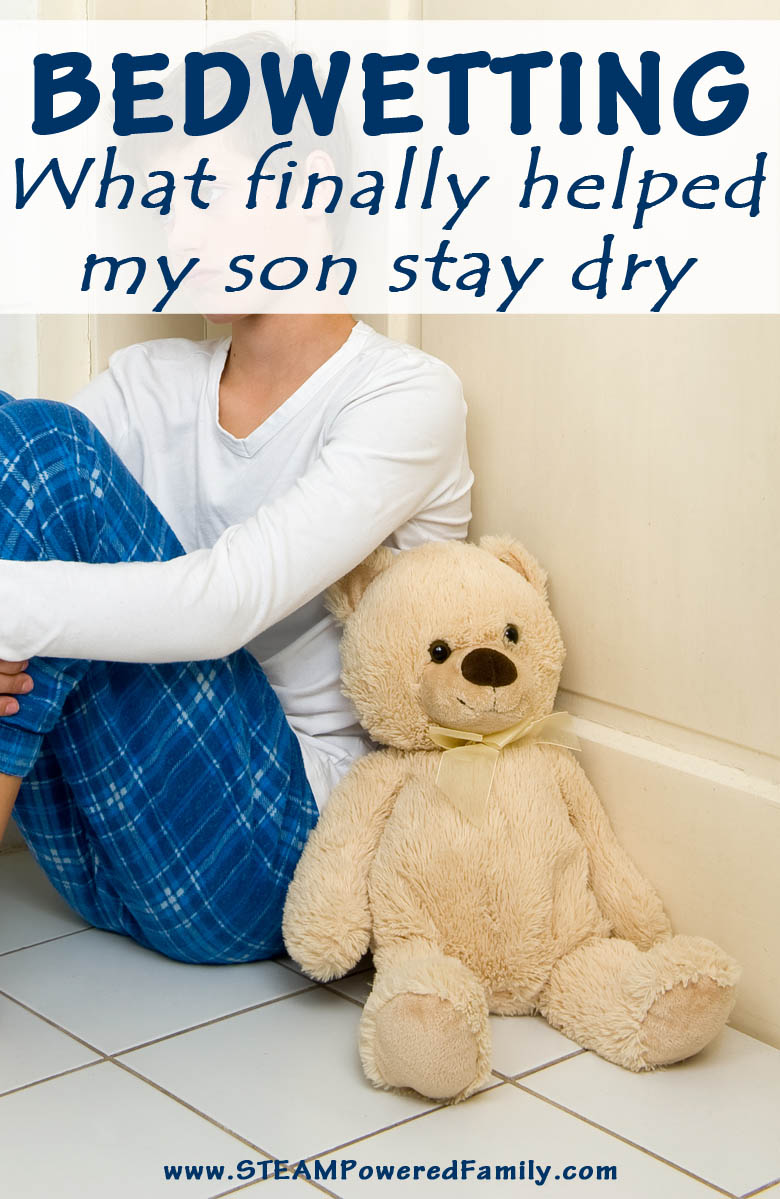 Bed wetting, how we finally helped my son stay dry