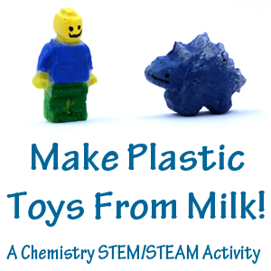 Make plastic from milk
