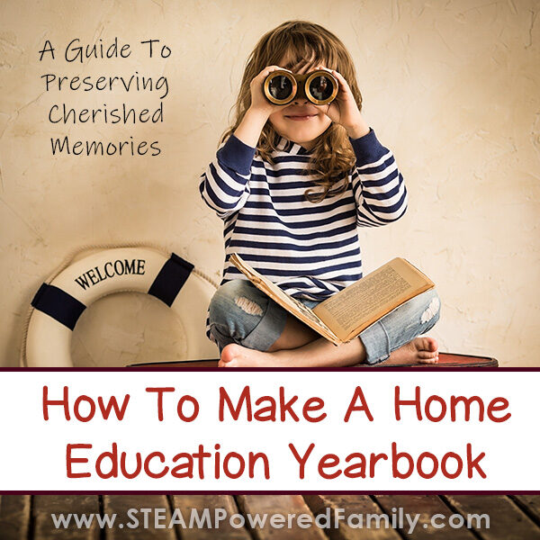 How to Make a Homeschool Yearbook