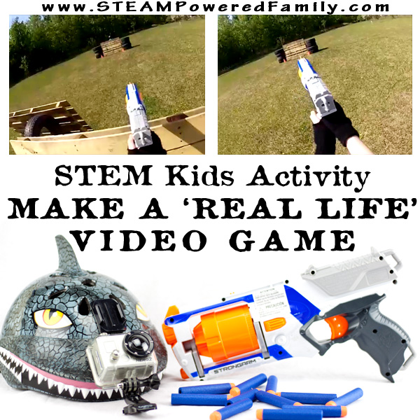 Make A Real Life Video Game