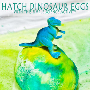 hatch dino eggs chemistry challenge is messy fun for all ages