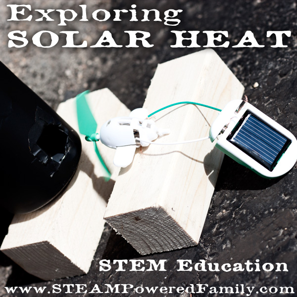 Exploring Solar Heat - STEM Education. A fantastic idea for some outdoor STEM fun