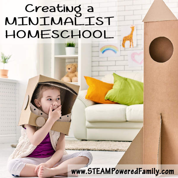 Creating a minimalist homeschool room for Creating a minimalist home