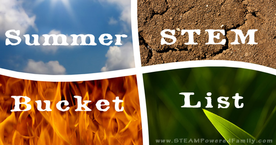 Summer STEM Activities Bucket List – 20 STEM Challenges For Summer Fun!