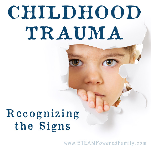 Recognizing the signs of childhood trauma