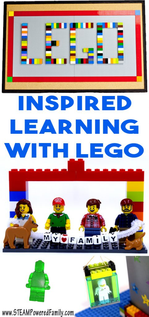 We love learning with Lego! It's no secret how much we love Lego around here. We use Lego for entertainment, therapy, home decor, education, and of course, fun!