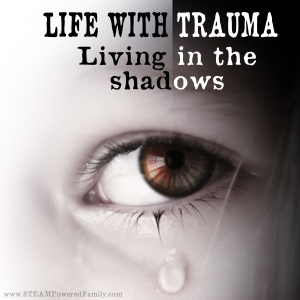 Life with trauma. The thing with trauma is that it never leaves. It becomes this shadow that follows you through your days. Especially for childhood trauma.